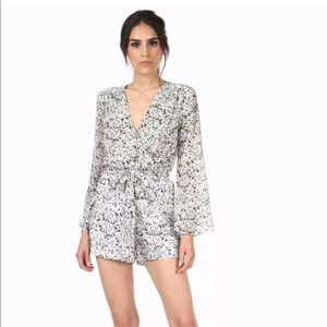 Pants - NWT! Jay Godfrey Kent Romper with Bell Sleeves